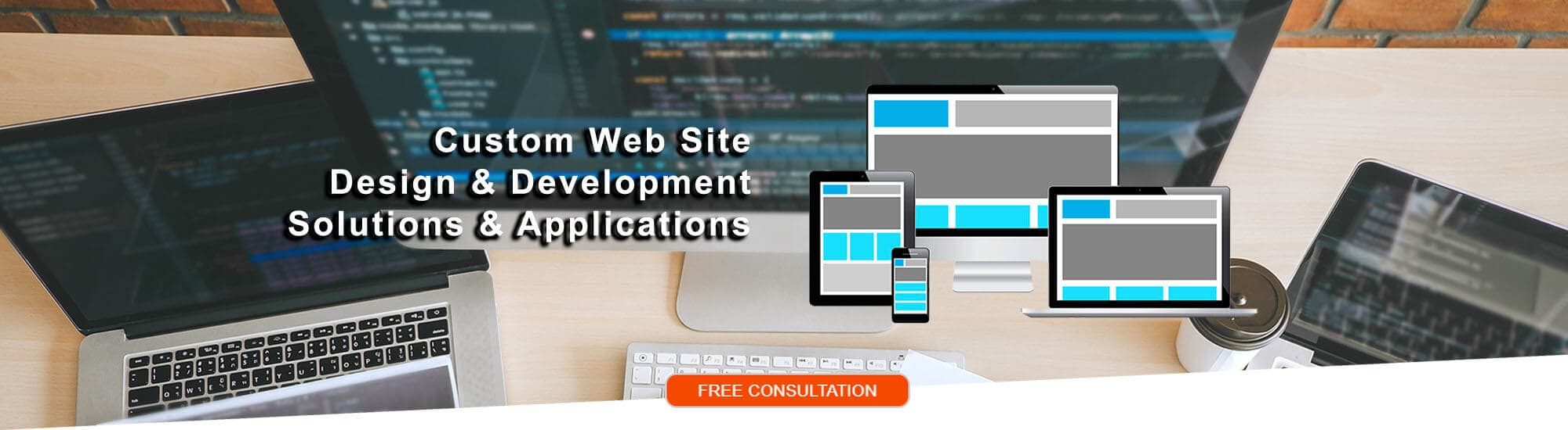 Custom Web Site Design & Development, Solutions & Applications