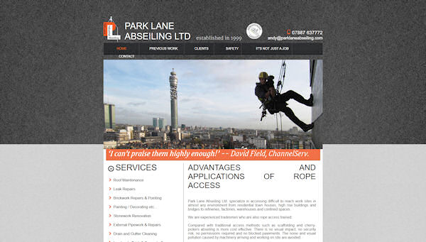 Park Lane Abseiling
